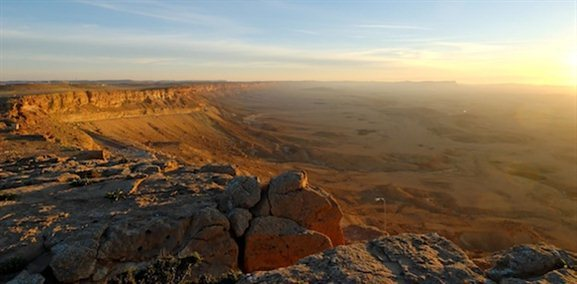achtesh Ramon at sunrise tb030707948 The Wilderness of Zin— Inspiring Awe but Not Obedience to God