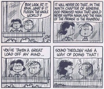 Image result for theology of peanuts