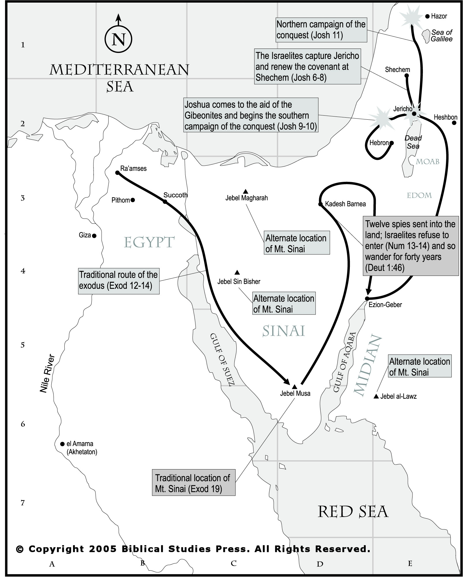 NET Bible Maps Bibleorg - Map of egypt during exodus